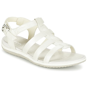 Παπούτσια Γυναίκα Σανδάλια / Πέδιλα Geox D SAND.VEGA A άσπρο