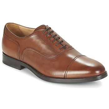 Παπούτσια Άνδρας Richelieu Geox U HAMPSTEAD C COGNAC