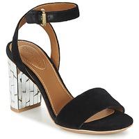 Παπούτσια Γυναίκα Σανδάλια / Πέδιλα See by Chloé SB28001 Black / Velours