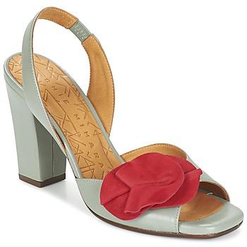 Παπούτσια Γυναίκα Σανδάλια / Πέδιλα Chie Mihara ANAMI Grey / Red