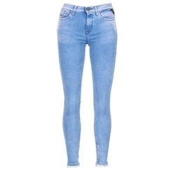 0e46e9ce96 Υφασμάτινα Γυναίκα Jeans 3 4   7 8 Replay JOI Μπλέ   Medium