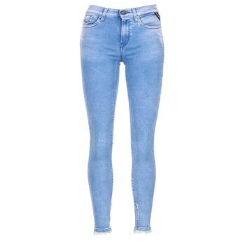Υφασμάτινα Γυναίκα Jeans 3/4 & 7/8 Replay JOI Μπλέ / Medium