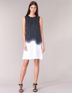 Υφασμάτινα Γυναίκα Κοντά Φορέματα Replay WOOPINA Black / άσπρο