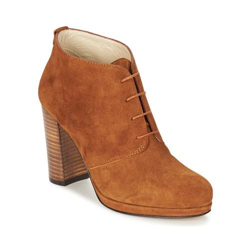 Παπούτσια Γυναίκα Μποτίνια Betty London PANAY CAMEL