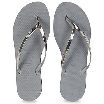 Παπούτσια Γυναίκα Σαγιονάρες Havaianas YOU METALLIC Grey