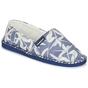 Παπούτσια Εσπαντρίγια Havaianas ORIGINE ORQUIDEAS Marine / Άσπρο