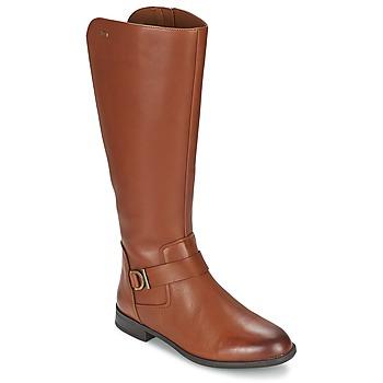 Παπούτσια Γυναίκα Μπότες για την πόλη Clarks MINT TREAT GTX Brown