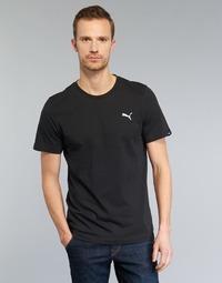 Υφασμάτινα Άνδρας T-shirt με κοντά μανίκια Puma ESS TEE Black