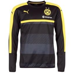 Υφασμάτινα Άνδρας Φούτερ Puma BVB TRAINING SWEAT Black / Yellow