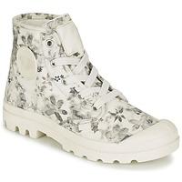 Παπούτσια Γυναίκα Μπότες Palladium US PAMPA HI F ECRU