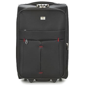 Βαλίτσα με ροδάκια David Jones JAVESKA 49L Εξωτερική σύνθεση : Ύφασμα & Εσωτερική σύνθεση : Ύφασμα