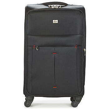 Βαλίτσα με ροδάκια David Jones JAVESKA 76L Εξωτερική σύνθεση : Ύφασμα & Εσωτερική σύνθεση : Ύφασμα