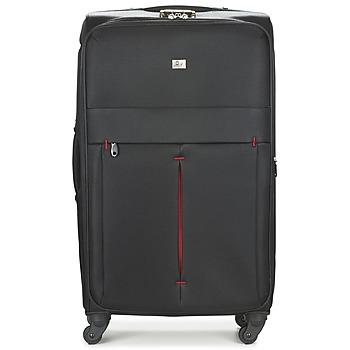 Βαλίτσα με ροδάκια David Jones JAVESKA 111L Εξωτερική σύνθεση : Ύφασμα & Εσωτερική σύνθεση : Ύφασμα