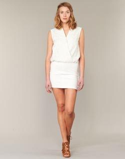 Υφασμάτινα Γυναίκα Κοντά Φορέματα Le Temps des Cerises SHERY άσπρο