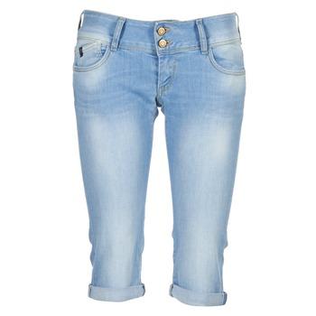 Υφασμάτινα Γυναίκα Jeans 3/4 & 7/8 Le Temps des Cerises CHRISTIA μπλέ /  CLAIR