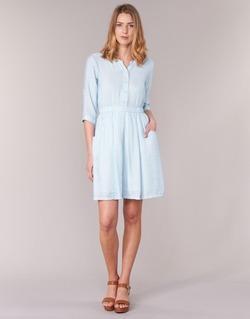 Υφασμάτινα Γυναίκα Κοντά Φορέματα Molly Bracken BLECH μπλέ