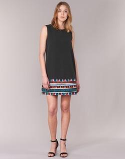 Υφασμάτινα Γυναίκα Κοντά Φορέματα Molly Bracken MESPT Black