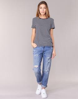 Υφασμάτινα Γυναίκα Boyfriend jeans Levi's 501 CT RADIO / Star