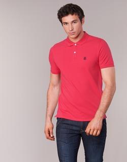 Υφασμάτινα Άνδρας Πόλο με κοντά μανίκια  Selected ARO Red