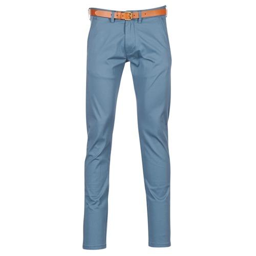 Υφασμάτινα Άνδρας Παντελόνια Chino/Carrot Selected HYARD μπλέ