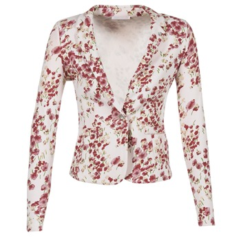 Υφασμάτινα Γυναίκα Σακάκι / Blazers Les P'tites Bombes OSIDOULE άσπρο / Red