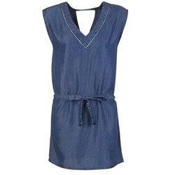 Υφασμάτινα Γυναίκα Κοντά Φορέματα Les P'tites Bombes GUELOFI μπλέ