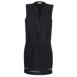 Υφασμάτινα Γυναίκα Κοντά Φορέματα Les P'tites Bombes JOUNE Black