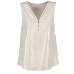 Υφασμάτινα Γυναίκα Μπλούζες Les P'tites Bombes LOUVALE άσπρο / Gold