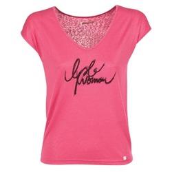 Υφασμάτινα Γυναίκα T-shirt με κοντά μανίκια LPB Woman CHOUBERNE Ροζ