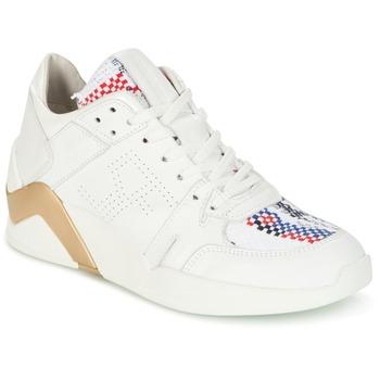 Παπούτσια Γυναίκα Ψηλά Sneakers Serafini CHICAGO Άσπρο / Gold