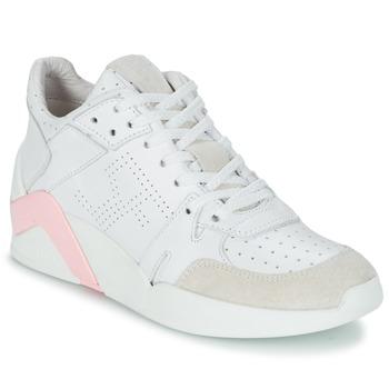 Παπούτσια Γυναίκα Ψηλά Sneakers Serafini CHICAGO άσπρο / ροζ
