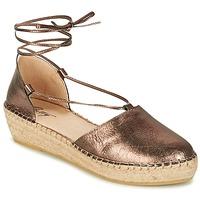 Παπούτσια Γυναίκα Σανδάλια / Πέδιλα Betty London GIORDA Bronze