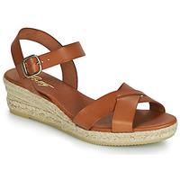 Παπούτσια Γυναίκα Σανδάλια / Πέδιλα Betty London GIORGIA Camel