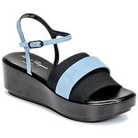 Παπούτσια Γυναίκα Σανδάλια / Πέδιλα Robert Clergerie PODDY Black / Μπλέ