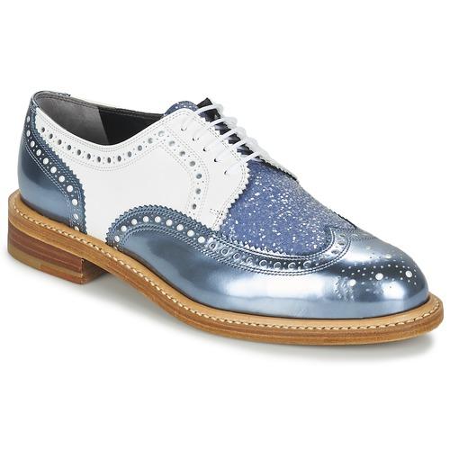Παπούτσια Γυναίκα Derby Robert Clergerie ROELTM Μπλέ / Μεταλικό / Άσπρο