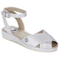 Παπούτσια Γυναίκα Σανδάλια / Πέδιλα Miss L'Fire HARLOW Silver