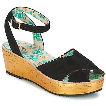 Παπούτσια Γυναίκα Σανδάλια / Πέδιλα Miss L'Fire MARCIE Black