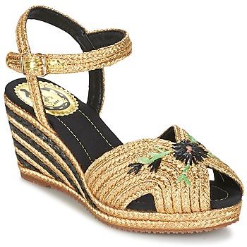 Παπούτσια Γυναίκα Σανδάλια / Πέδιλα Miss L'Fire RENEE Gold