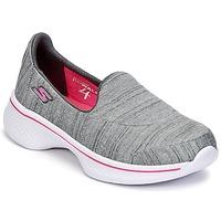 Παπούτσια Κορίτσι Slip on Skechers GO WALK 4 Grey