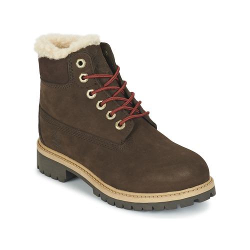 Παπούτσια Παιδί Μπότες Timberland 6 IN PRMWPSHEARLING Brown