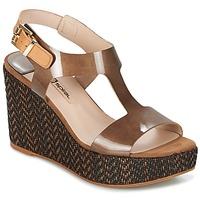 Παπούτσια Γυναίκα Σανδάλια / Πέδιλα Spiral PAULA Brown