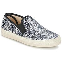 Παπούτσια Γυναίκα Εσπαντρίγια Spiral VIRGINIA Black / Άσπρο