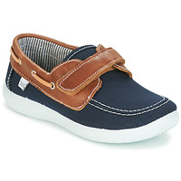 Παπούτσια Αγόρι Boat shoes Citrouille et Compagnie GASCATO Marine / Brown