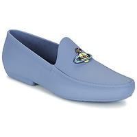 Παπούτσια Άνδρας Μοκασσίνια Vivienne Westwood ENAMELLED ORB MOC μπλέ