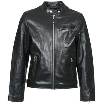 Υφασμάτινα Άνδρας Δερμάτινο μπουφάν Schott LC 940 D Black
