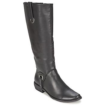 Παπούτσια Γυναίκα Μπότες για την πόλη Les P'tites Bombes ADAGIO Black