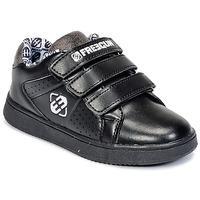 Παπούτσια Παιδί Χαμηλά Sneakers Freegun FG ULSPORT Black / άσπρο