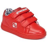 Παπούτσια Παιδί Χαμηλά Sneakers Freegun FG ULSPORT Red / άσπρο