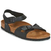Παπούτσια Γυναίκα Σανδάλια / Πέδιλα Birkenstock RIO Black