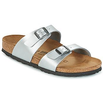 Παπούτσια Γυναίκα Τσόκαρα Birkenstock SYDNEY Silver